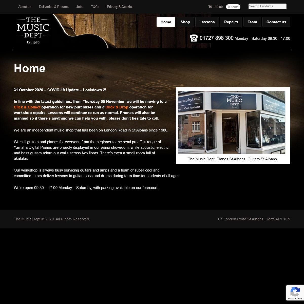 Guitar, Amp and Piano - The Music Dept, 67 London Road, St Albans AL1 1LN