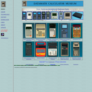 Datamath Calculator Museum