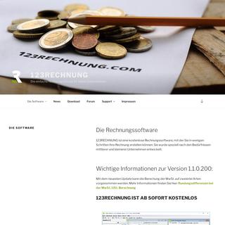Das kostenlose Rechnungsprogramm für Selbständige • 123RECHNUNG