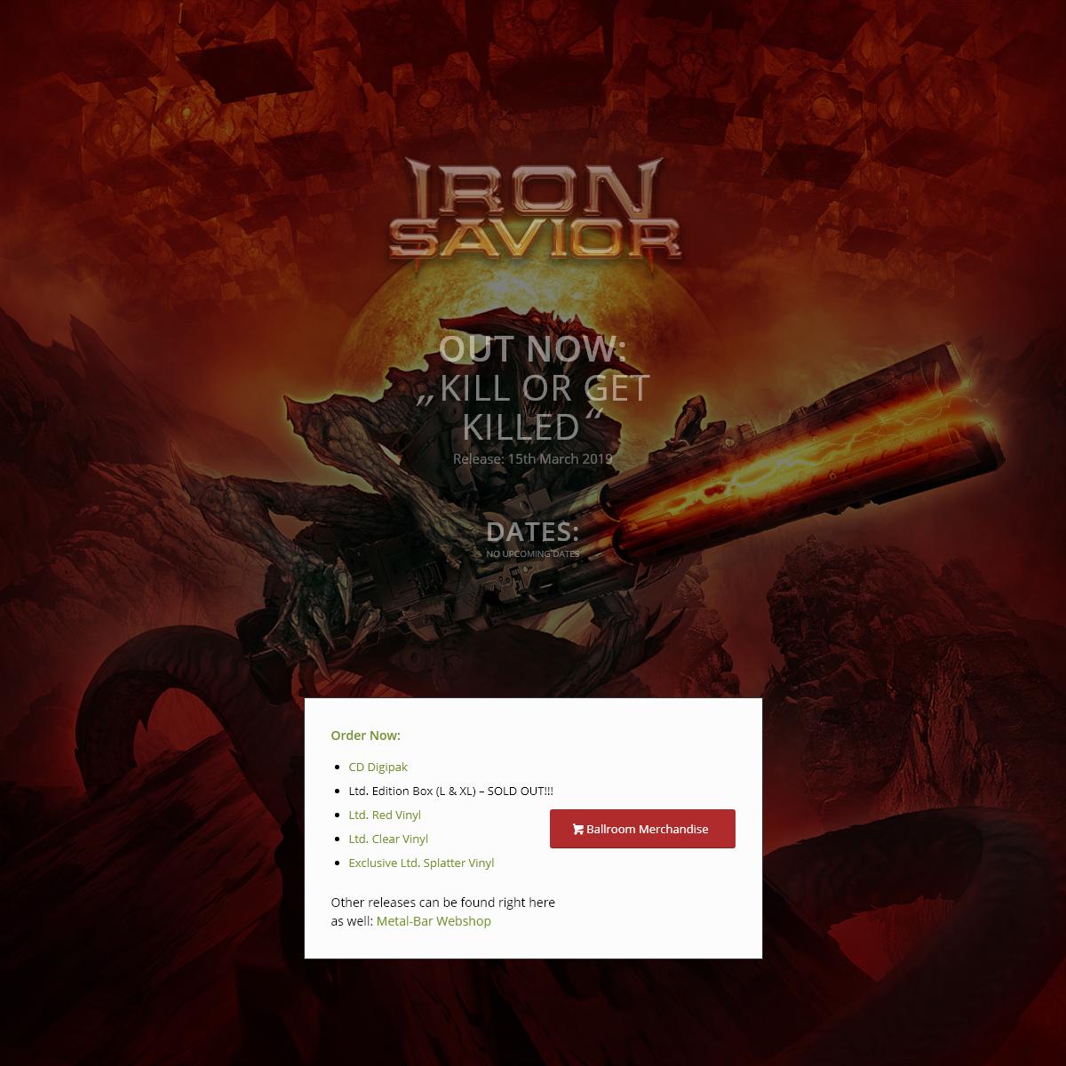 killer.iron-savior.com – Kill Or Get Killed