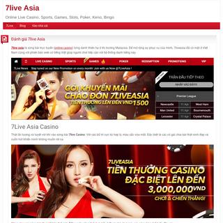 Đánh giá 7live Asia - 7live Asia