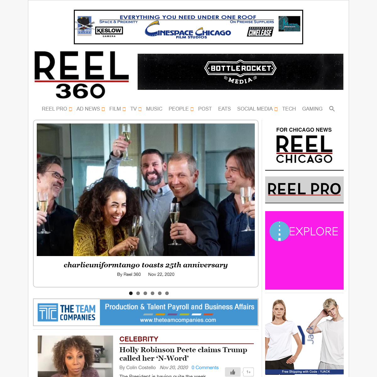 Reel 360 - film, production, TV, commercial, music, ad agency