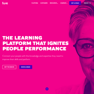 Fuse - The Learning Platform That Ignites People Performance