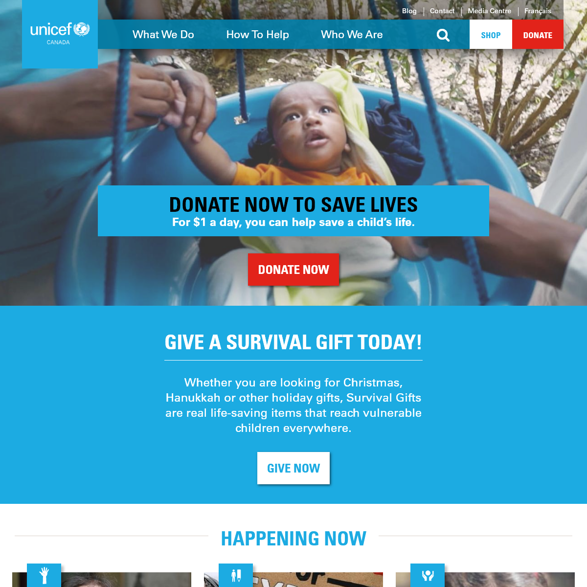 UNICEF Canada- Children's Charity – For Every Child