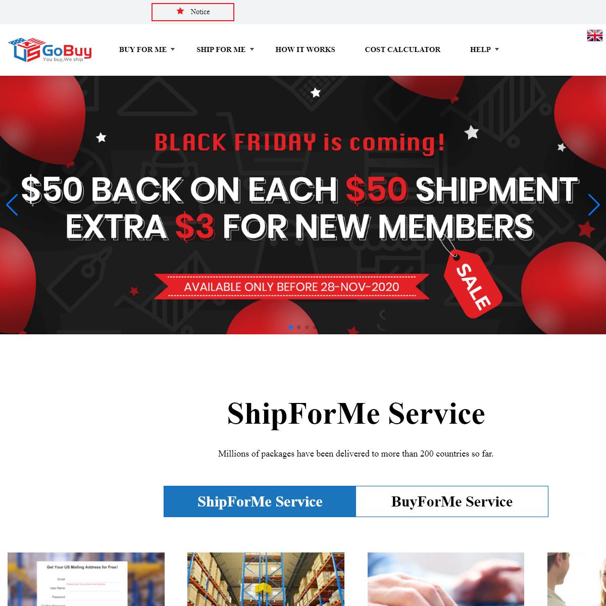 Package & Mail Forwarding Service for US Online Shopping - USGoBuy