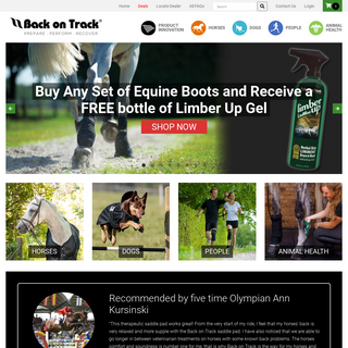 Back on Track - Therapeutic Products for Dogs, Horses & People