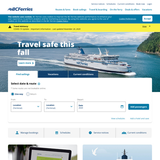 Connecting the Coast - BC Ferries