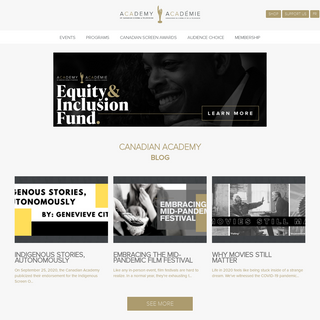 Academy of Canadian Cinema & Television - Academy.ca