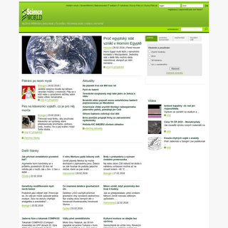 Science World.cz - Novinky ze světa vědy a techniky- technologie, neživá příroda, člověk, biologie