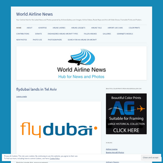 World Airline News - Your Central Hub for the Latest News and Photos powered by AirlinersGallery.com Images. Airline Videos, Rou