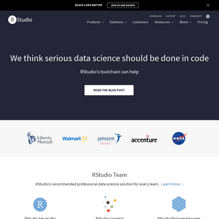 RStudio - Open source & professional software for data science teams - RStudio