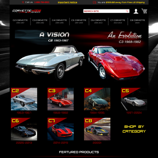 Corvette Parts and Accessories - CorvetteMods.com