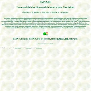 emna Eventverleih Maschinenverleih Naturschutz Abscheider Spülmobil Verleih Geschirrmobil Mieten