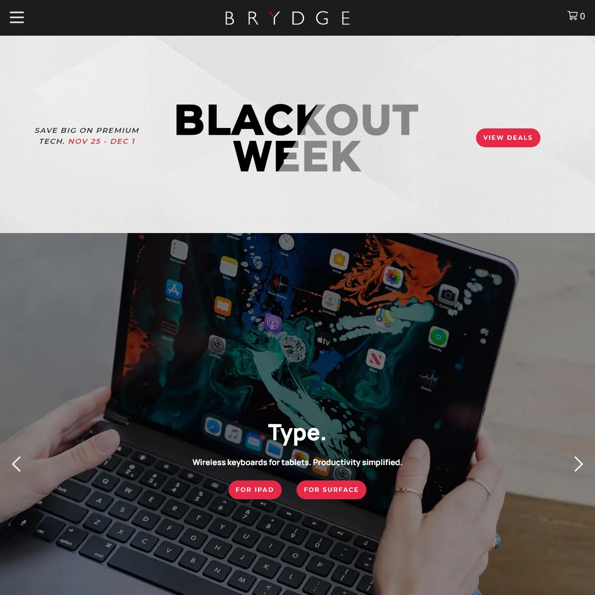 Brydge - Award Winning Wireless Keyboards