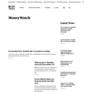 Moneywatch- Financial news, world finance and market news, your money, product recalls updated daily from CBS News