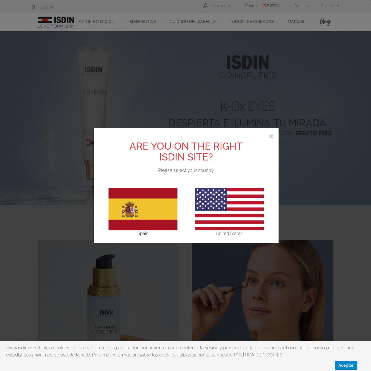 ISDIN España - Sitio Oficial - ISDIN