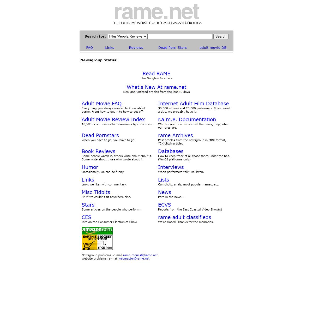 A complete backup of www.www.rame.net