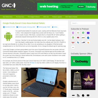 Geek News Central - Geek News- Latest Technology, Product Reviews, Gadgets and Tech Podcast News for Geeks