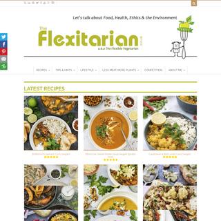 The Flexitarian - Go Meat Free - Vegetarian and Vegan Recipes