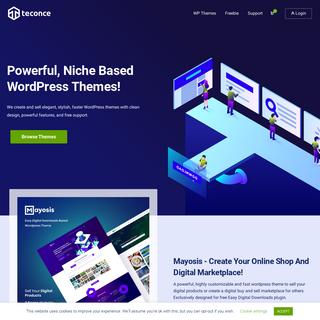 Teconce - Powerful Niche Based WordPress