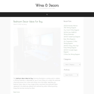 Wires & Decors – Wiring Database & Decor Ideas