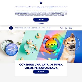 ◯ NIVEA ® España Online - Página Oficial · Cuidamos tu piel