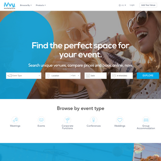 Venue Hire Made Easy - iVvy