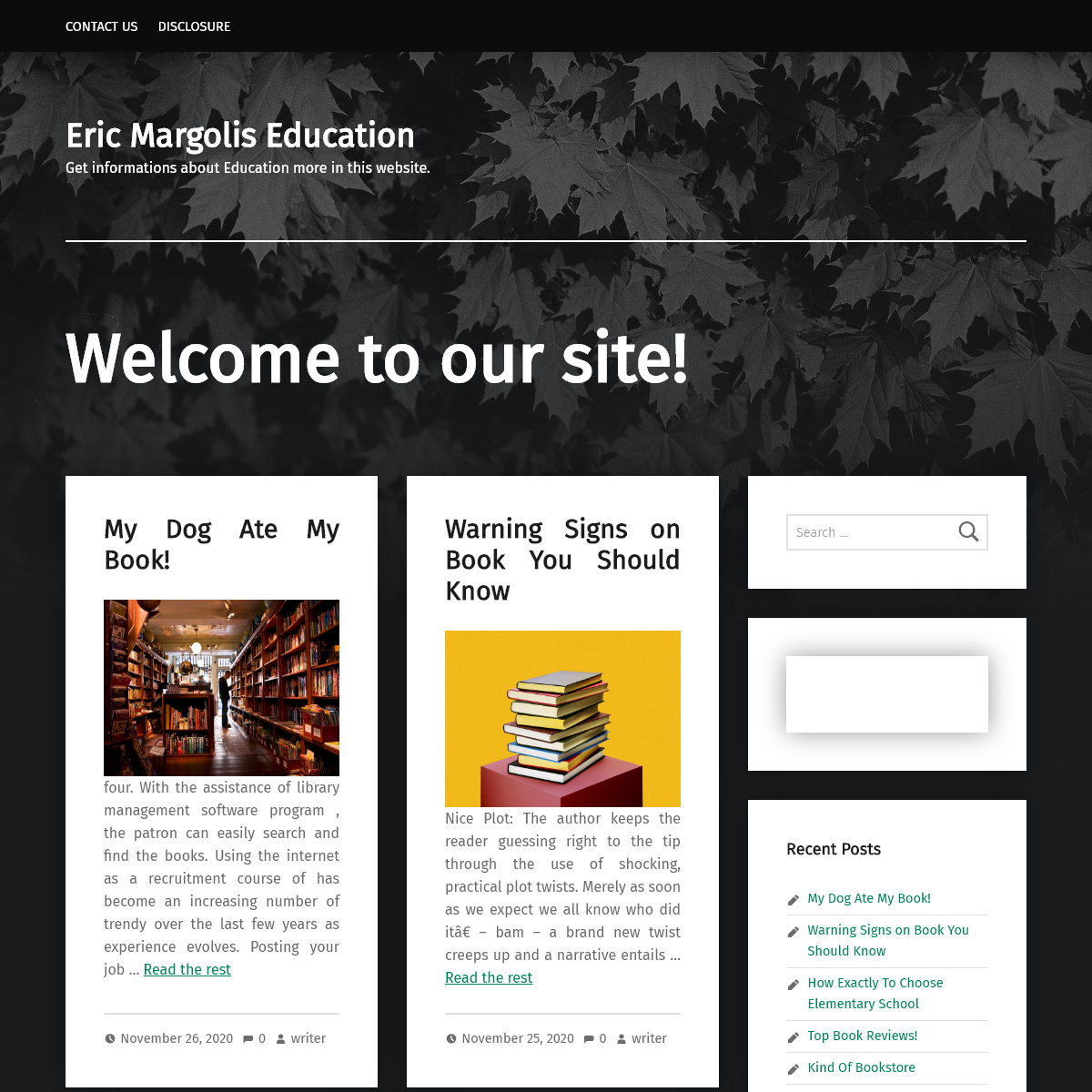 Eric Margolis Education – Get informations about Education more in this website.