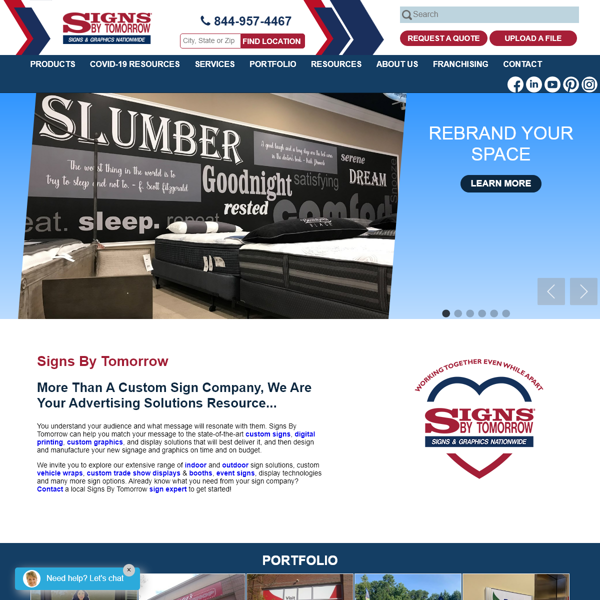 Custom Signs, Digital Printing, Graphics, Signage, Displays and More - Signs By Tomorrow - Sign Company, Custom Signage