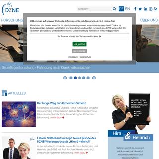 DZNE -Forschungszentrum für neurodegenerative Erkrankungen