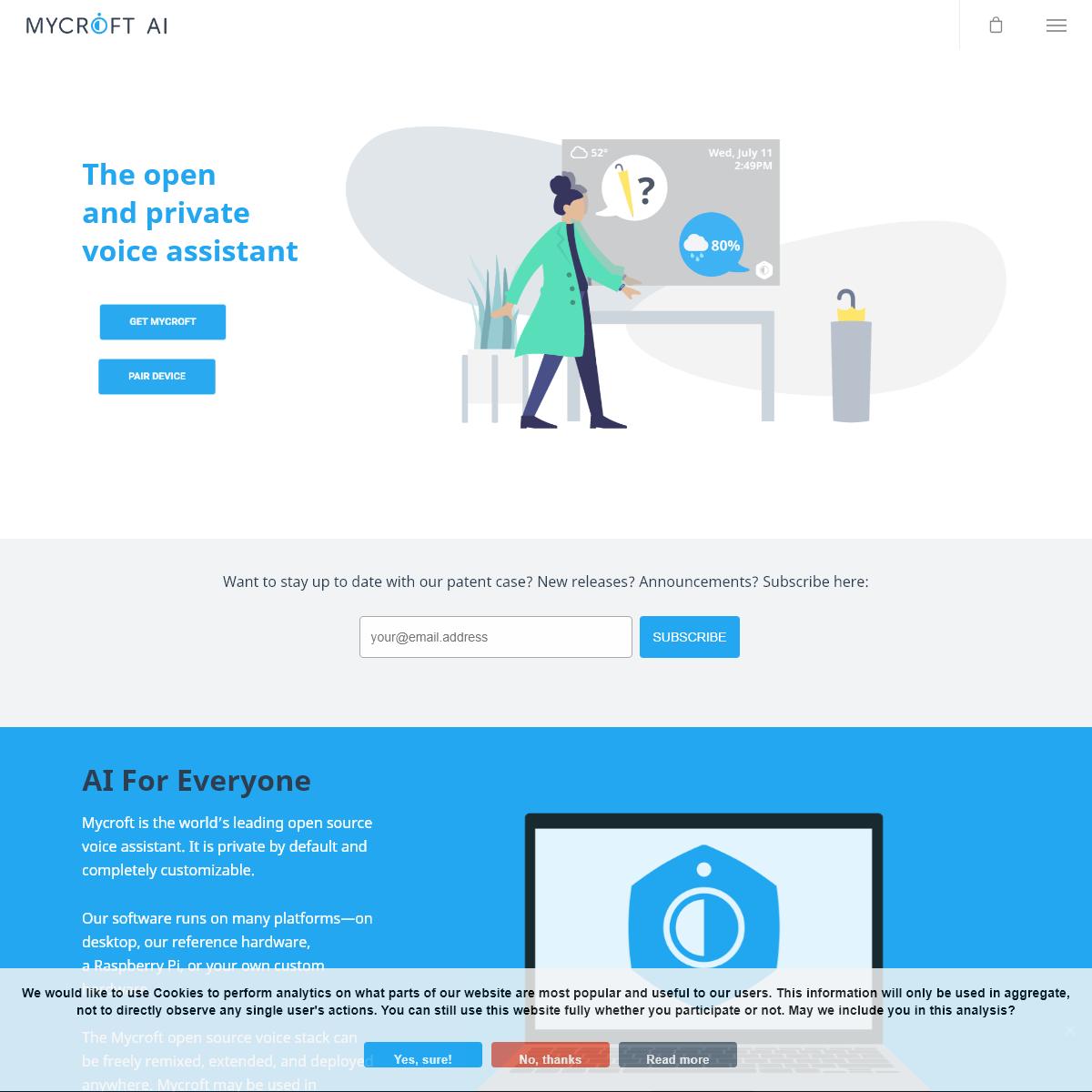 Mycroft – The Open Source Privacy-Focused Voice Assistant - Mycroft