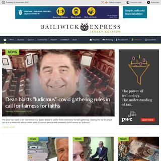 Jersey News - Jersey Classifieds - News in Jersey - Bailiwick Express News Jersey