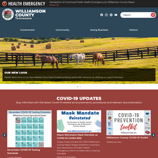 Williamson County, TN - Official Site - Official Website