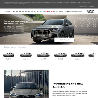 Audi South Africa - Home
