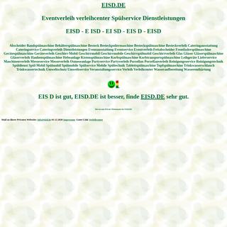 eisd Eventverleih verleihcenter Spülservice Dienstleistungen Spülmobil Verleih Geschirrmobil Mieten