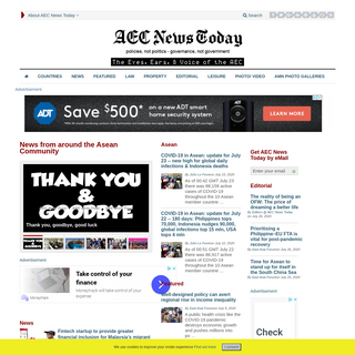 AEC News Today - The eyes, ears & voice of the Asean Economic Community (AEC)