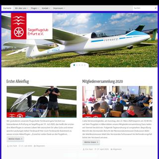 SFCE Segelflugclub Erfurt - Segelfliegen und fliegen lernen in Thüringen