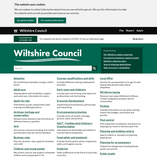 Welcome to Wiltshire Council - Wiltshire Council