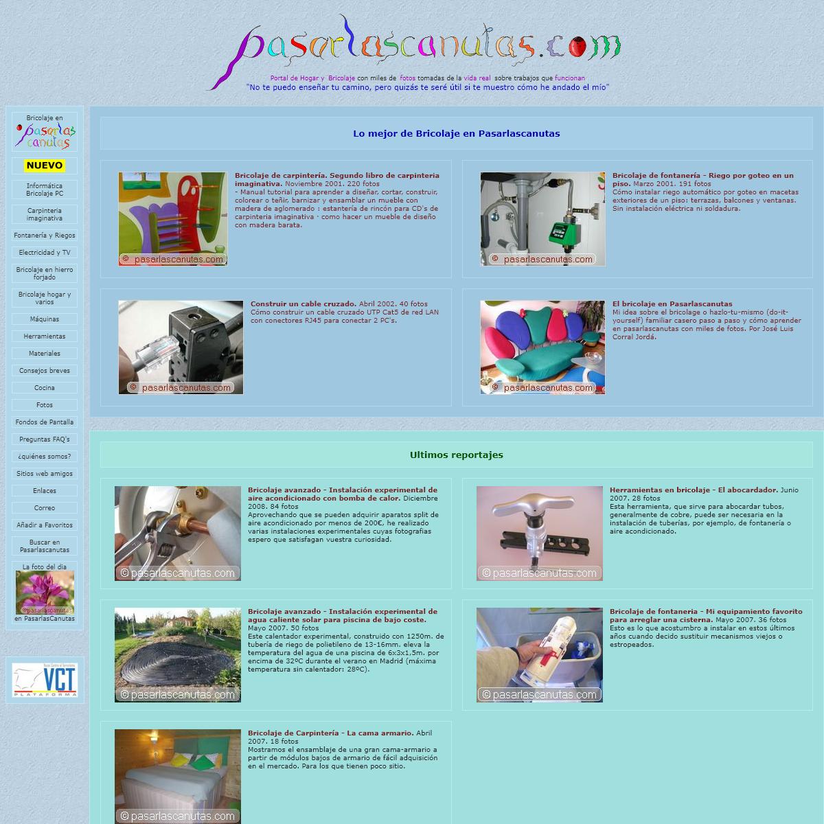 PasarlasCanutas - portal de hogar bricolaje y fotos
