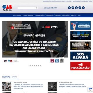 Ordem dos Advogados do Brasil - Seção do Paraná -