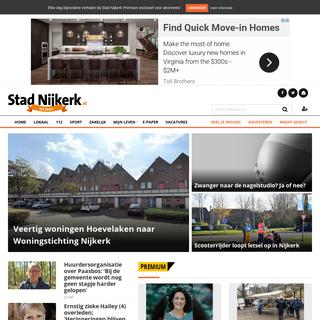 StadNijkerk.nl Nieuws uit de regio Nijkerk - stadnijkerk.nl