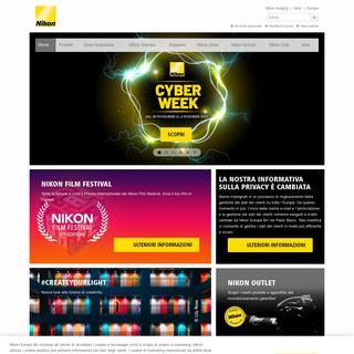 Nikon- Fotocamere digitali, obiettivi e accessori per la fotografia