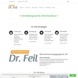Forschungsgruppe Dr. Feil - Kompetenz ist unsere Stärke