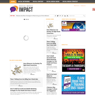 Social Media Impact - The #1 Most Trusted Social Media News Site