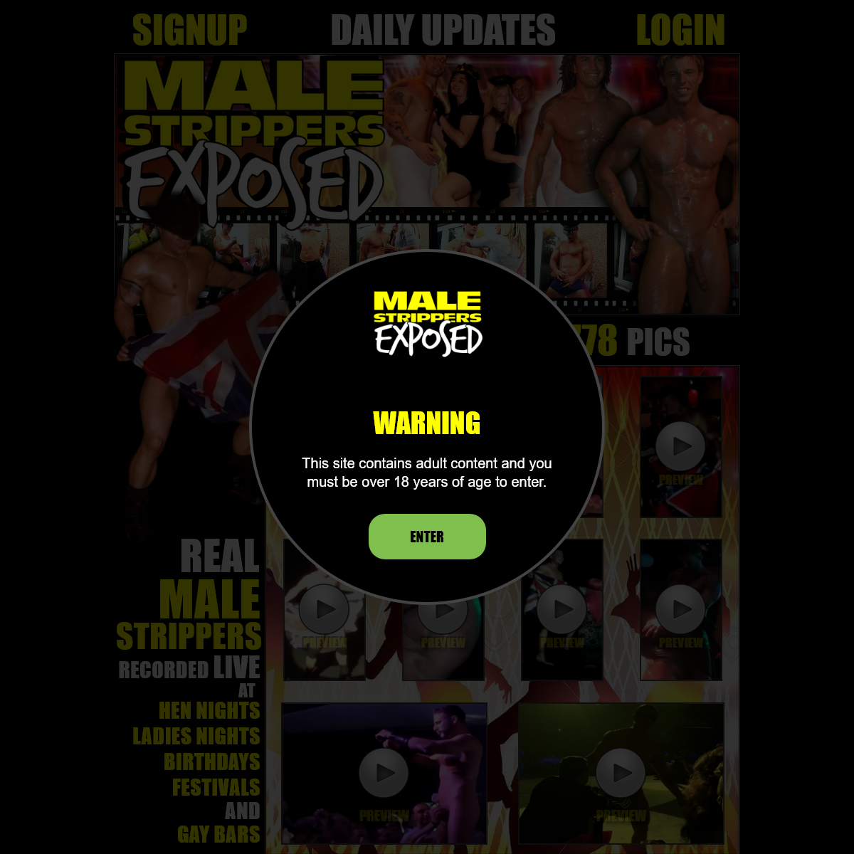 A complete backup of www.malestrippersexposed.com