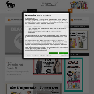 Homepage - Knipmode