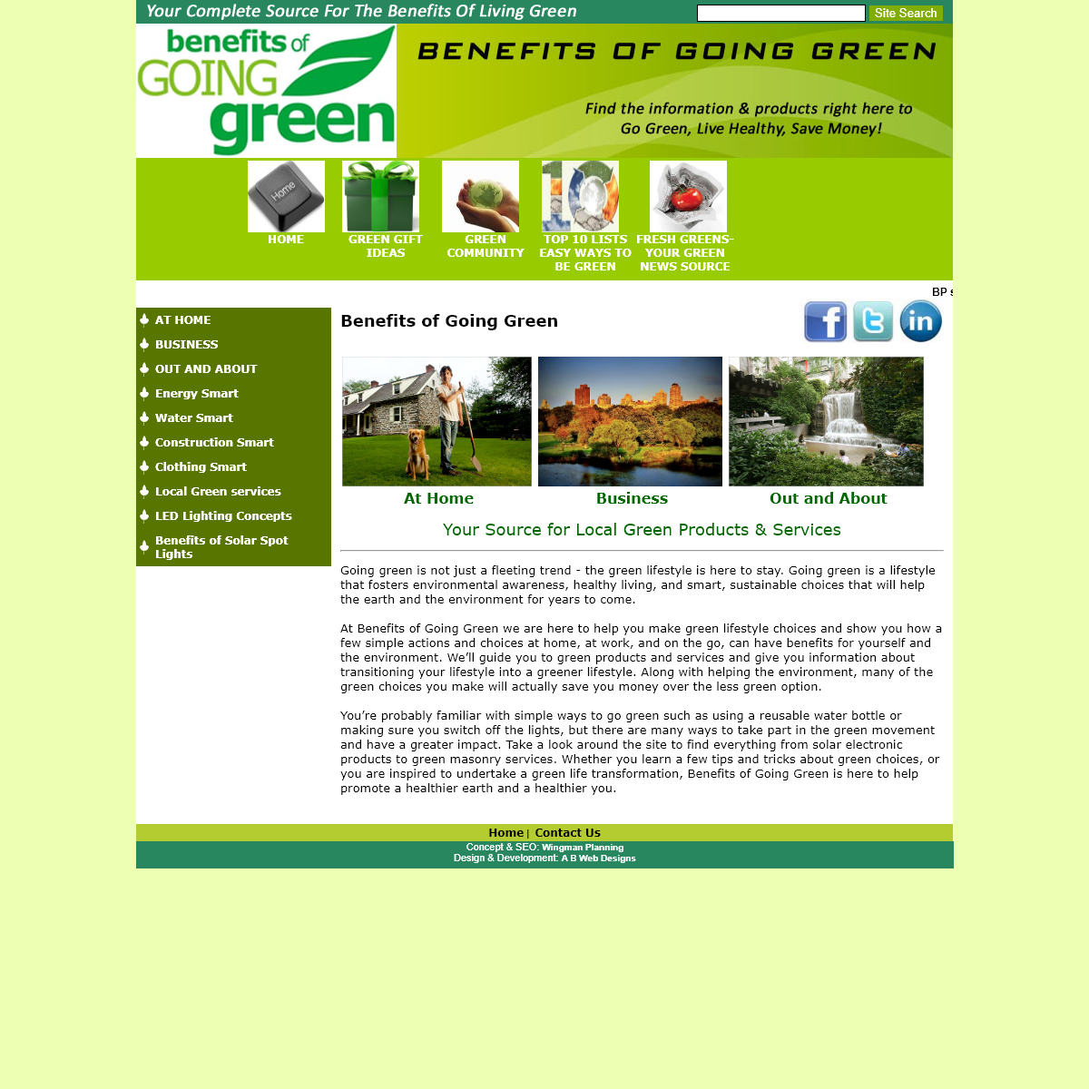 Benefits of Going Green your source for green living