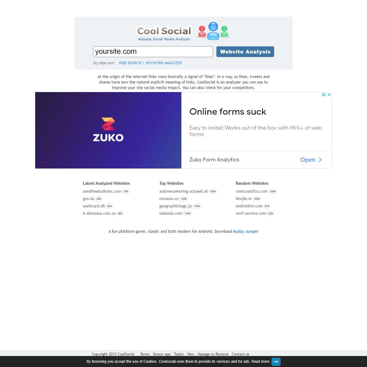 Cool Social - Your Social Media Analyzer