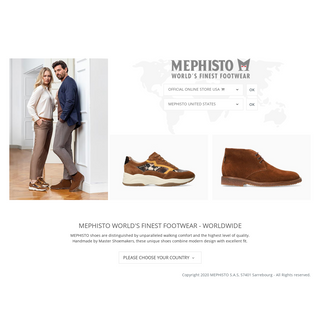 MEPHISTO Finest Walking Shoes - Official Global Website
