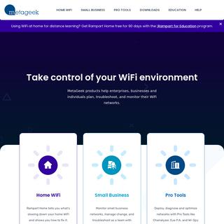 MetaGeek - Equipping WiFi Heroes